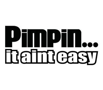 Pimpin... it aint easy