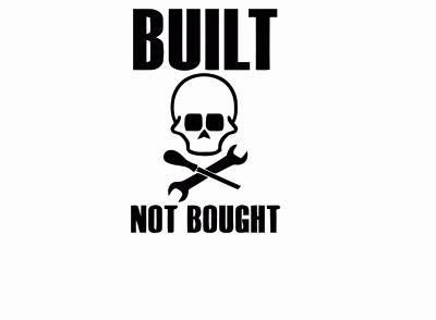 built not bought